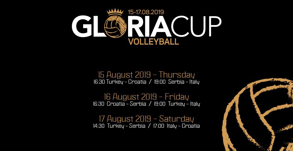 ​Gloria Cup 2019 Volleyball Tournament Schedule