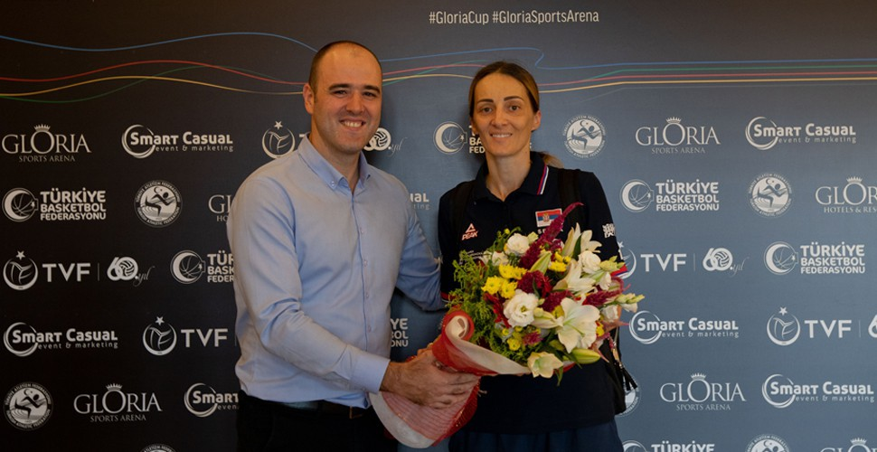 Gloria Sports Arena General Manager - Serbia Women's National Team Captain